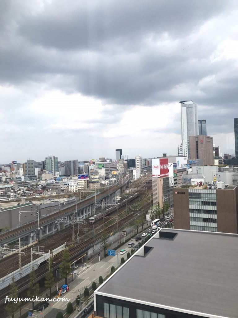 オンワード名古屋からの景色