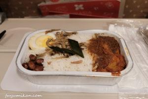 エアアジアの機内食