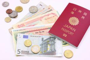 外貨とパスポート