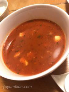 クノールトマトスープの完成