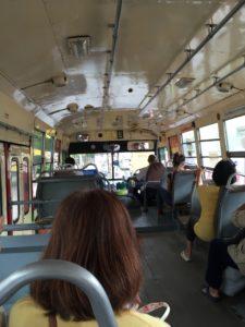 バンコクバス車内