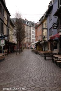 ザクセンハウゼンの街並み