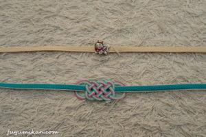 三分紐と帯留め