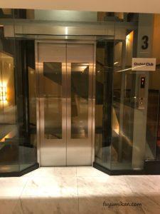 オーキッドクラブ専用エレベーター